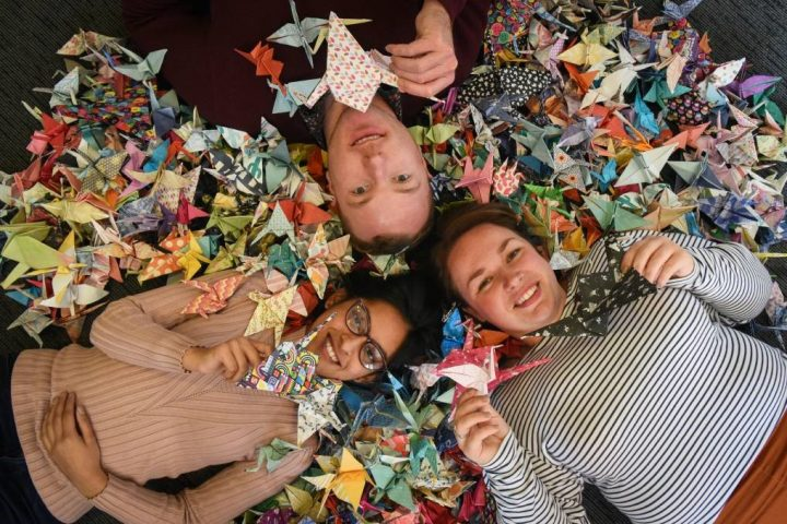 Tasmanian paper planes flying in for overdose awareness initiative